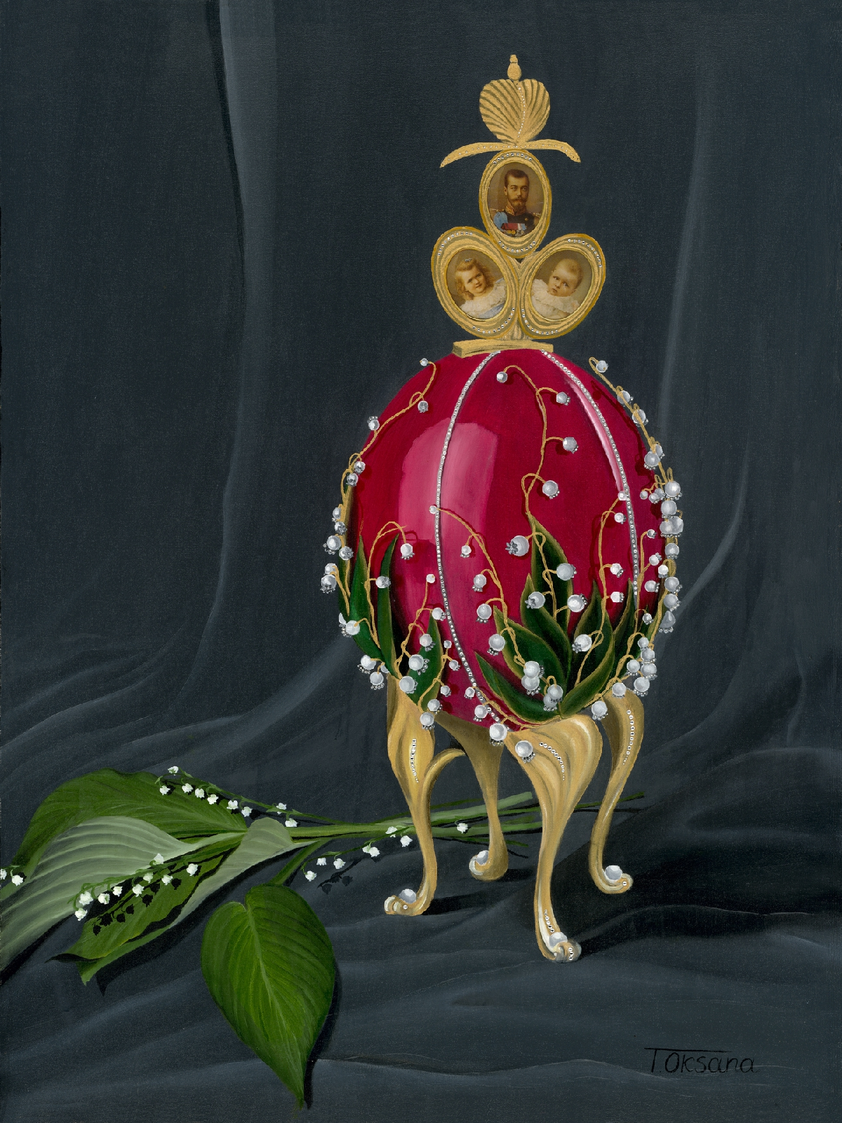 Faberge Lillies Egg