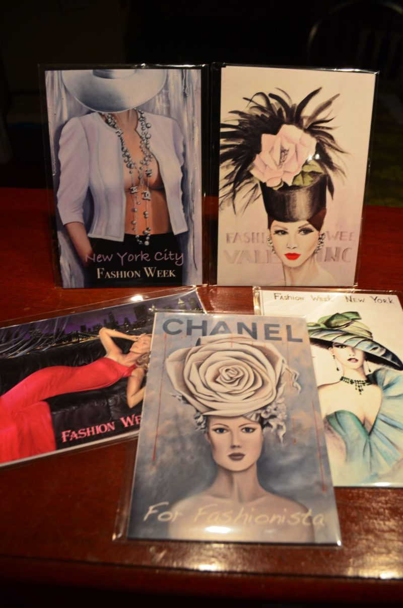 Fashion Cards set